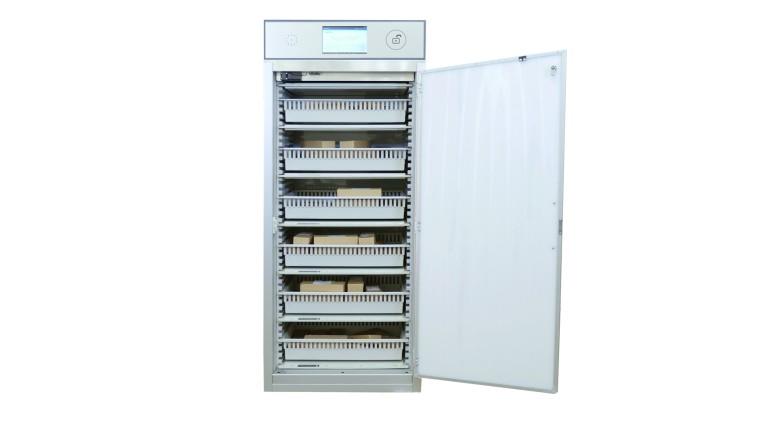 Sato presenta il nuovo armadio rfid smart cabinet